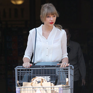 Taylor Swift Goes Grocery Shopping at Bristol Farms in LA