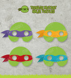 Who wouldn't want the Teenage Mutant Ninja Turtles at their wedding? These printable eye props ($6) make your childhood dreams come true.
