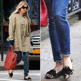 In Love With . . . Sienna Miller's Leopard Loafers