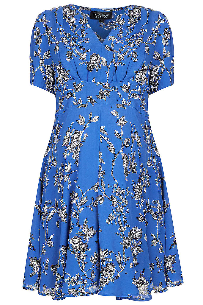 Topshop Floral Tea Dress