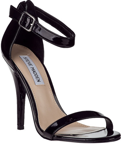 STEVE MADDEN Realove Evening Sandal Silver Leather