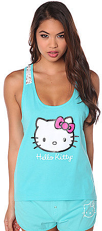 Hello Kitty Intimates The Blissful Moment Crochet Back Tank
