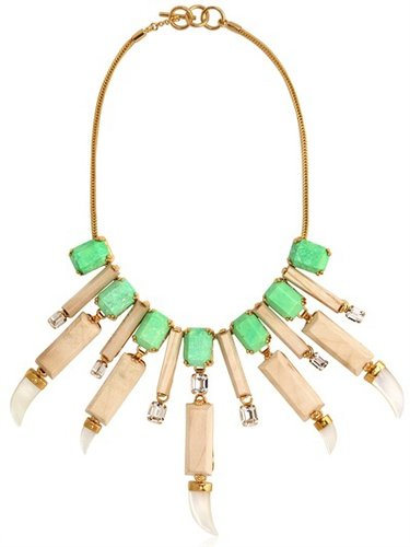 Everglades Wood Collar Necklace