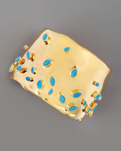 Alexis Bittar Gold Sputnik Cuff