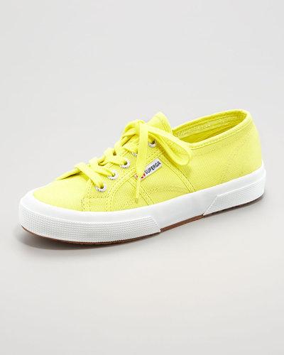 Superga Cotu Classic Sneaker, Limelight