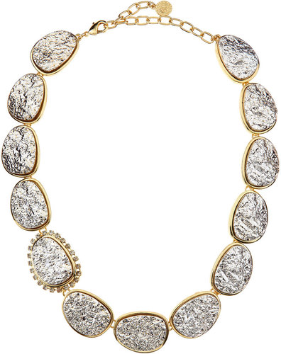 R.J. Graziano Druzy Necklace, Golden