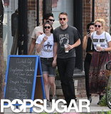 Robert Pattinson and Kristen Stewart walked around LA.