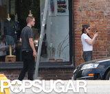 Robert Pattinson and Kristen Stewart Show PDA in LA