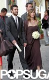 Jessica Biel showed support as a bridesmaid at her 7th Heaven costar Beverly Mitchell's big day in Italy in October 2008. She had now-husband Justin Timberlake by her side for the bash.