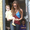 Victoria Beckham and Harper Go to Breakfast in LA | Photos