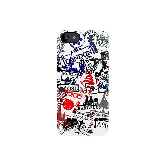 Forget passports. Keep all your travel stamps close with this graphic iPhone case ($37).
