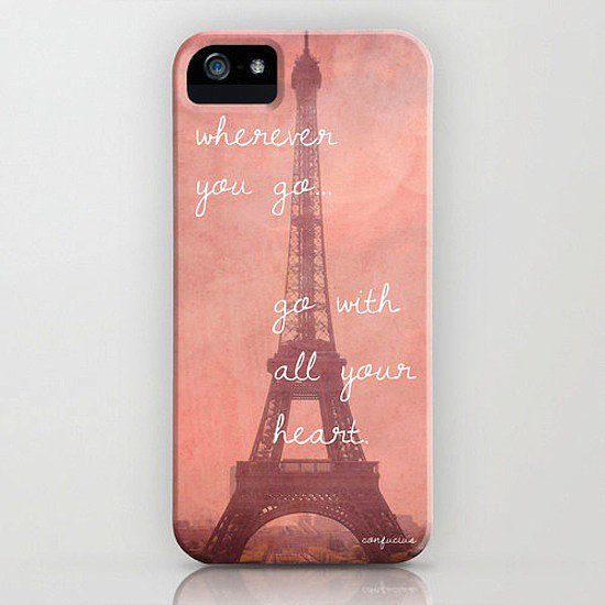 We can't think of a more fitting quote for this sweet Eiffel Tower iPhone case ($45).