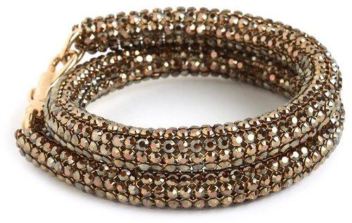 Atelier Swarovski by Christopher Kane Crystal Bronze Bracelet