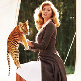 Carine Roitfeld Casts Models, Baby Wildlife in Pre-Fall Story For Harper's Bazaar