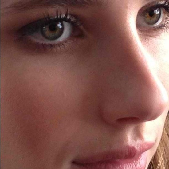 Emma Roberts shared a close-up of her gorgeous eyes and flawless makeup look. Source: Instagram user emmaroberts6