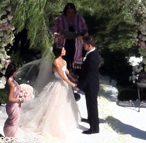 Channing Tatum and Jenna Dewan held their July 2009 Malibu wedding outdoors.