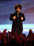 Game of Thrones star Peter Dinklage greeted fans at the award show.