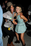 Julianne Hough hung out with Jessica Szohr.