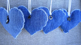 Denim Hearts