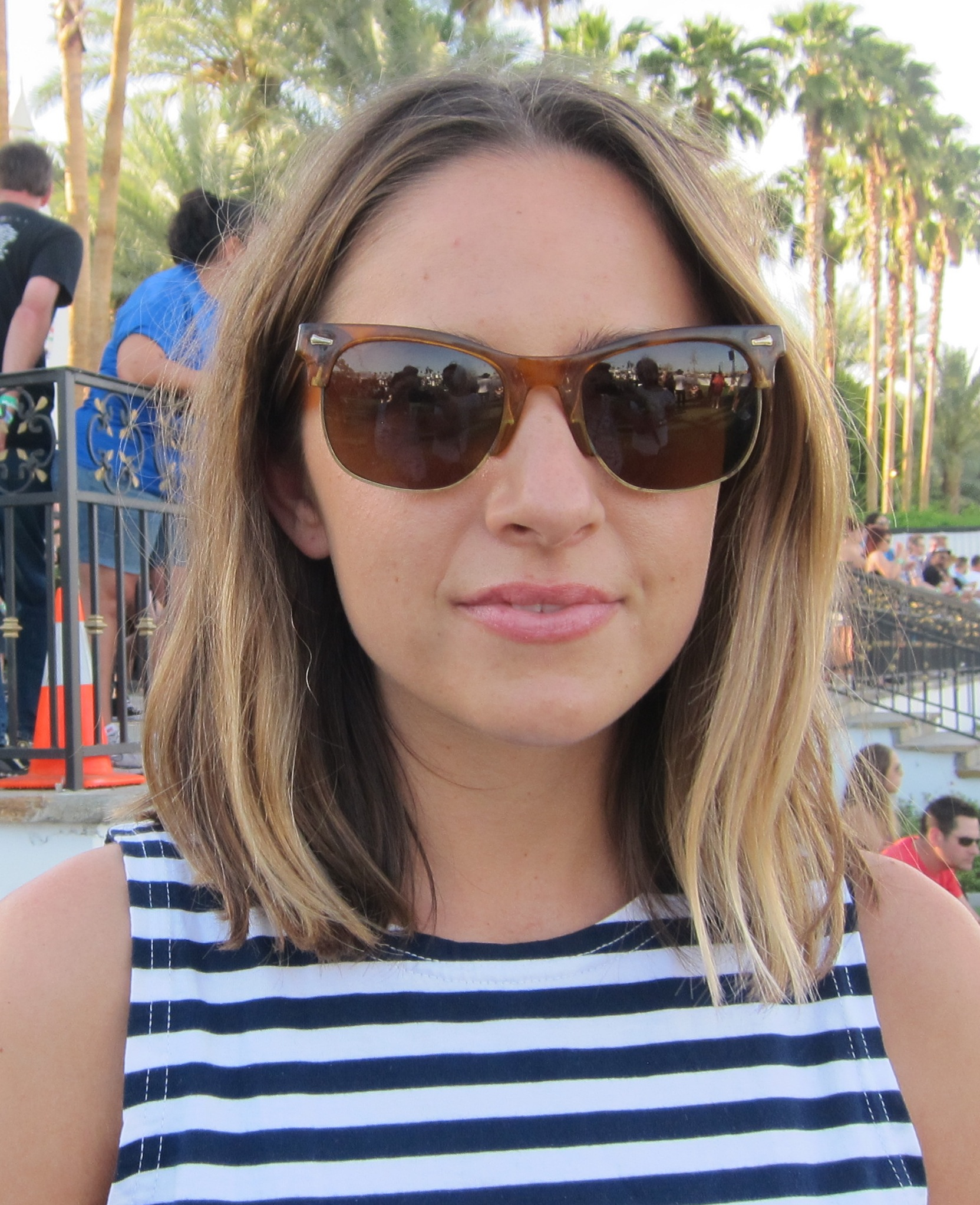 The lob lives on at Coachella. Photo: Meg Cu