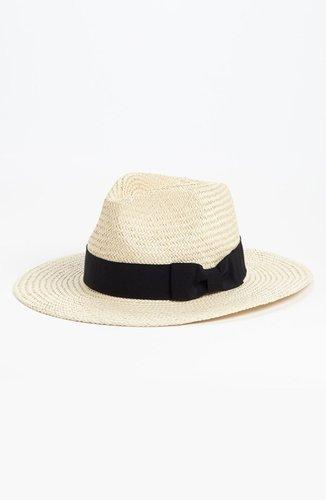 Trouve Straw Panama Hat