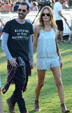 Michael Polish and Kate Bosworth were one of the many couples at Coachella.