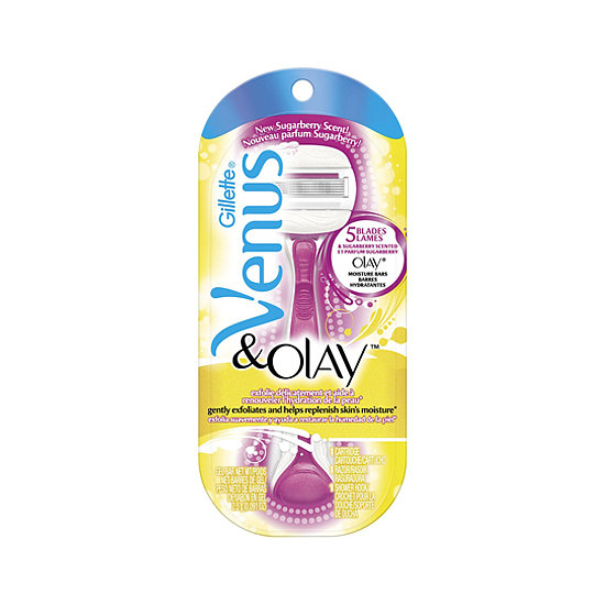 Venus & Olay Razor in Sugarberry ($11) is a travel essential to swipe away errant hair around the bikini line, legs, and underarms. And thanks to that silky-smooth moisture bar contained within, you'll get one of the smoothest, closest shaves around.