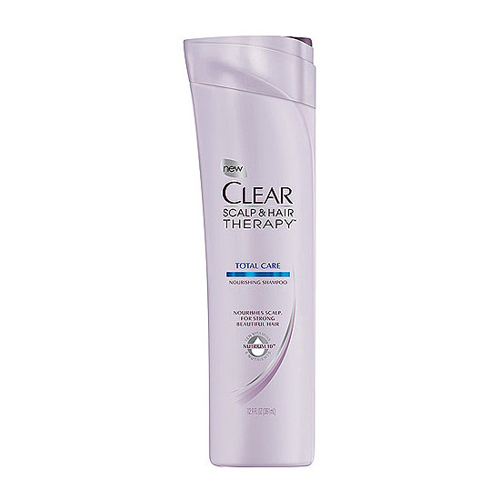 Clear Total Care Nourishing Shampoo ($6) is the best all-around option for cleansing your scalp and hair, while also adding nourishment for healthy, shiny strands.