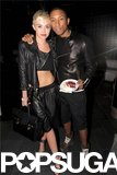 Miley Cyrus Joins Up With Jennifer Hudson For Pharrell's Big Birthday