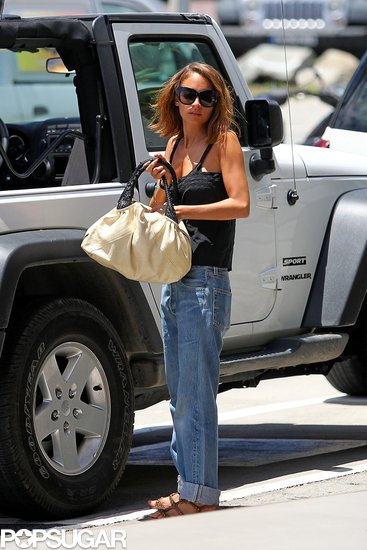 Nicole Richie got ready to leave St. Barts.