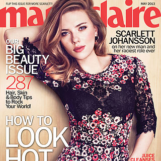 Scarlett Johansson in Marie Claire May 2013