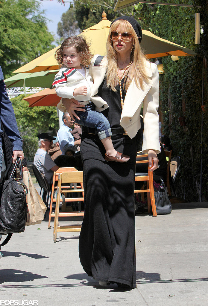 Rachel Zoe ran errands with Skyler.