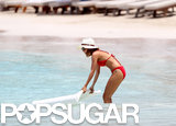 Jessica Alba and Nicole Richie Slip In Bikini Time in St. Barts