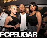 Miley Cyrus and Jennifer Hudson celebrated Pharrell's birthday.