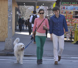 Olivia Wilde Hits the City Streets With Her Brother and Her Dog
