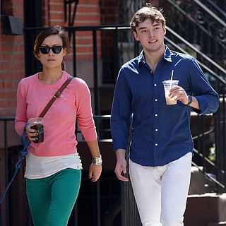 Olivia Wilde Walks Her Dog With Her Brother in NYC