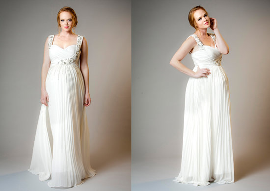 Maternity Bride Isis Dress