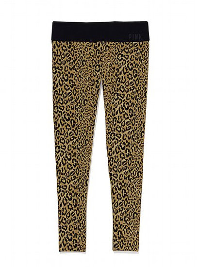 Slide into a pair of leopard-print yoga leggings ($45-$50) before you head to the studio to channel your wild side into all your favorite poses.