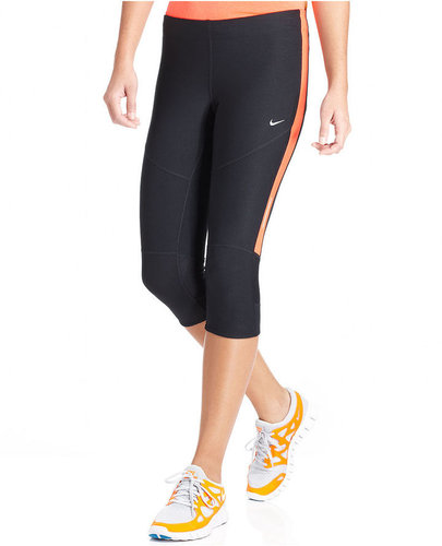 Nike Pants, Tech Dri-FIT Active Capri Leggings