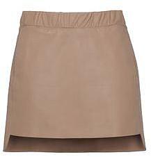 NEIL BARRETT Leather skirt