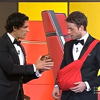 Hamish Blake and Andy Lee 2013 Logies Opening Act