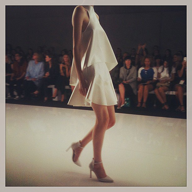 Crowds were loving this flirty Bec & Bridge hemline. Source: Instagram user cleofashion
