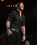 Luke Bryan performed at the TV taping.