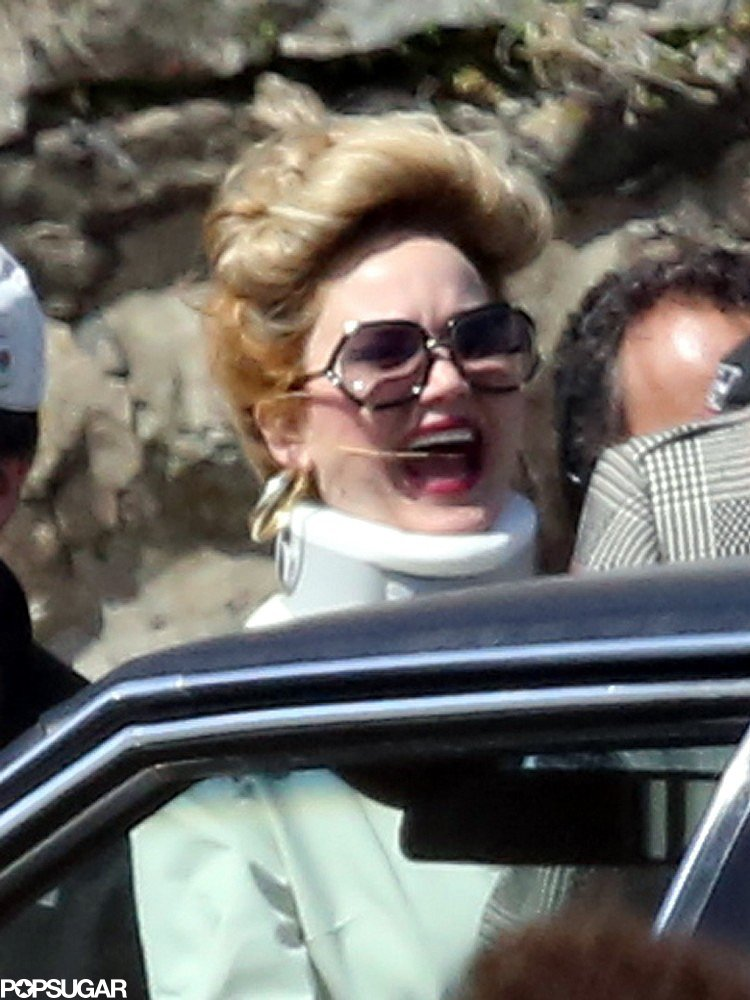 Jennifer Lawrence laughed while on the set of her untitled David O. Russell project in Boston.