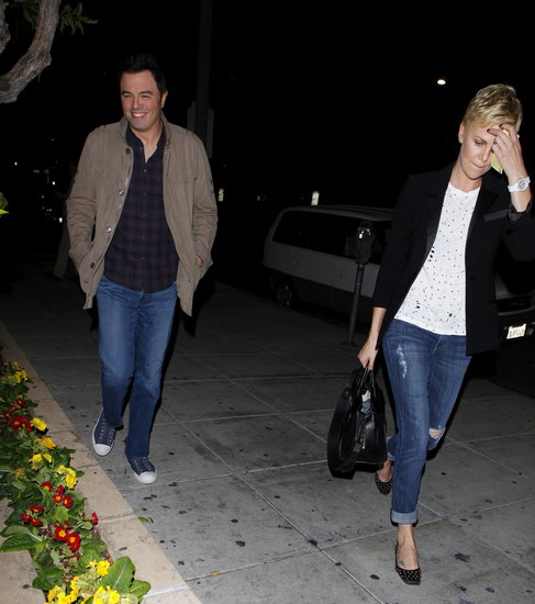 Charlize Theron and Seth MacFarlane Together | Photos ...
