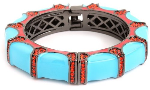 Blue Gear Bangle