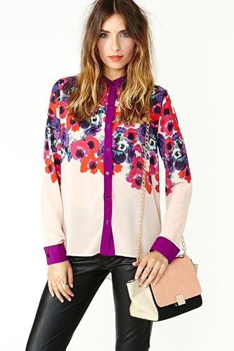 Bloom Street Blouse