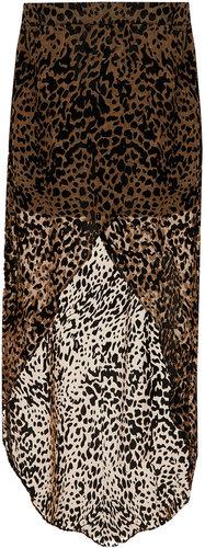 Tall Animal Devoree Maxi Skirt