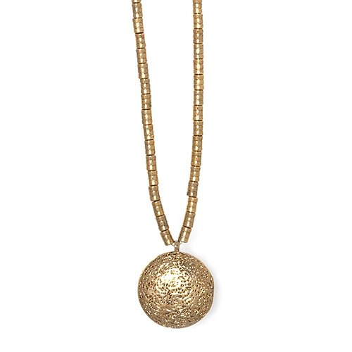 Low Luv - Gold Lava Locket Necklace