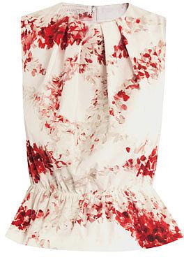 Giambattista Valli Garland-floral print top